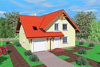 Projekt domu Law