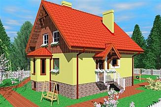 Projekt domu Szo