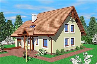Projekt domu Pas