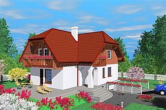 Projekt domu Pil