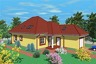 Projekt domu Wcz