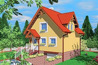 Projekt domu Paj