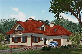 Projekt domu APS 083+P