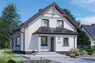 Projekt domu APS 208