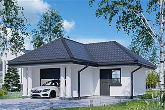 Projekt garażu APG 07