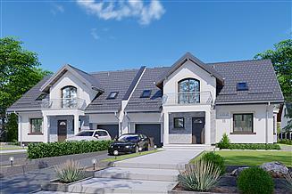 Projekt domu APS 182 dwulokalowy