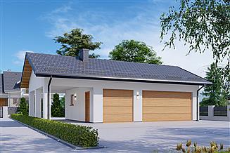 Projekt garażu APG 24