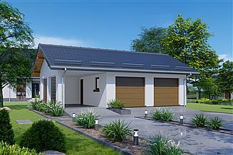 Projekt garażu APG 20