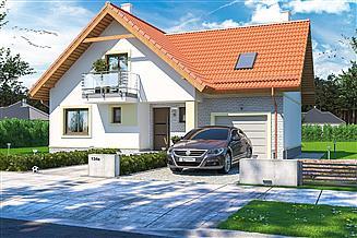 Projekt domu Puk 2