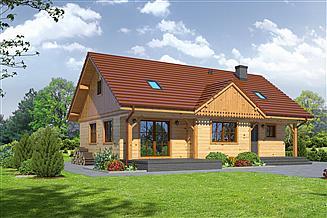 Projekt domu Bolesławice 5 dws