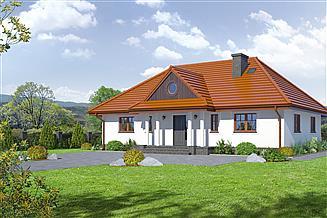 Projekt domu Chmielniki m8