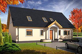 Projekt domu Sidney 2A
