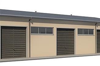 Projekt garażu H3-15