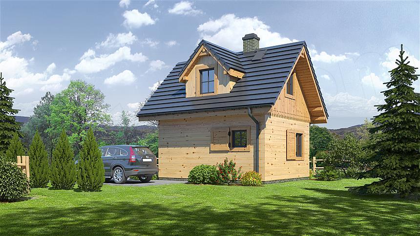 Projekt domu Gajowo 5dws