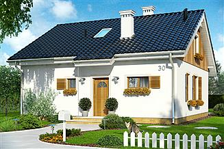 Projekt domu Zosia 3