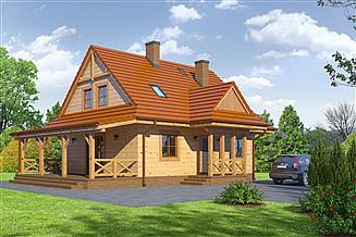 Projekt domu Zawoja dws 33