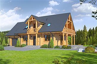 Projekt domu Milicz mały dw