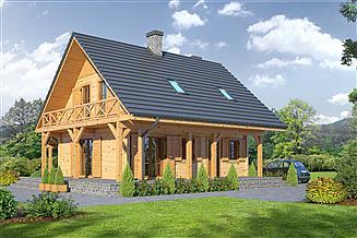 Projekt domu Świdnica mała dw3