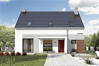 Projekt domu Eco 5 bez garażu [B]