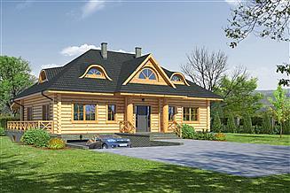Projekt domu Chmielniki dw39x