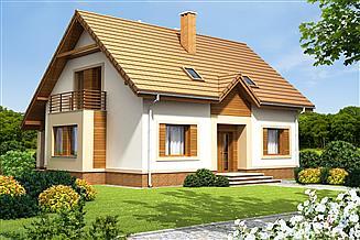 Projekt domu Amaretto 3