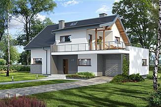 Projekt domu Aosta IV Termo