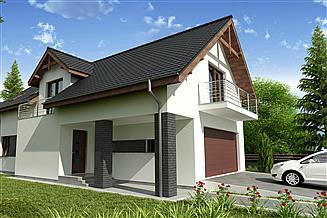 Projekt domu Wanad