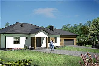 Projekt domu Dom Rozłożysty B