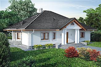 Projekt domu Jura