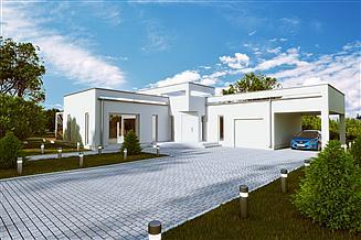 Projekt domu House 17.1