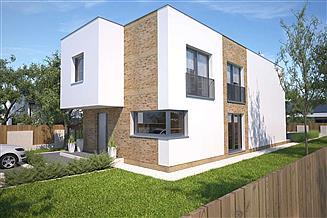 Projekt domu Delft III DCP294b