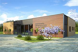 Projekt budynku usługowego Przychodnia weterynaryjna