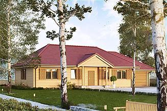 Projekt domu Borówka 4 bal