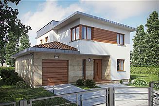 Projekt domu D87A