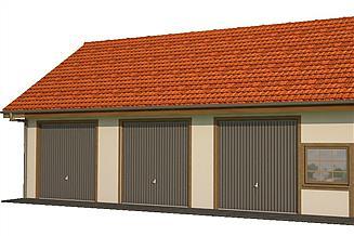 Projekt budynku gospodarczego BG 45