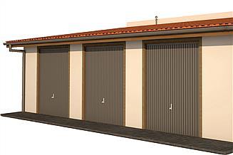Projekt garażu BG 46k
