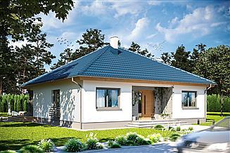 Gotowe Projekty Domów Bez Garażu Gwarancja Najniższej Ceny Extradom