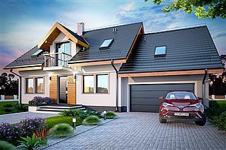 Projekt domu Karmelita Modern 2M