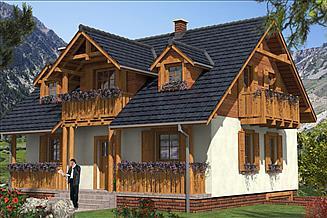 Projekt domu L-94 Dom tradycyjny