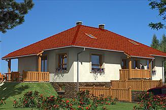 Projekt domu A-110 Dom tradycyjny