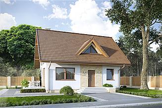 Projekt domu Bez