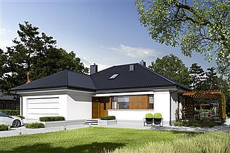 Projekt domu Astrid G2 energo