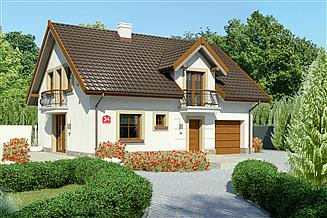 Projekt domu Dom przy Alabastrowej 34