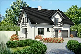 Projekt domu Dom przy Alabastrowej 31