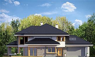 Elewacja frontowa projektu Dom z widokiem 3