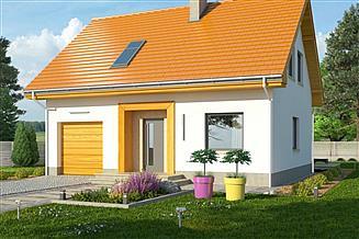 Projekt domu Iskra