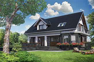 Projekt domu Kaprys Polo - murowana – beton komórkowy