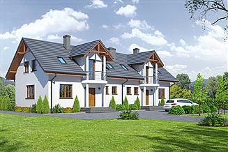 Projekt domu Mirów 88