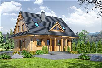 Projekt domu Jurgów średni 33 dws
