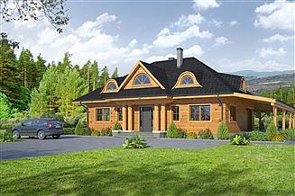 Projekt domu Chmielniki dws 32x